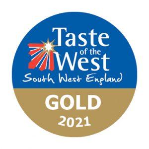 Taste of the West Gold Winner 2021 badge