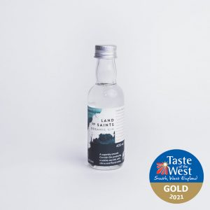 Land of Saints Organic Gin 5cl Taste of the West Gold 2021