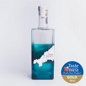 Land of Saints Organic Gin 70cl Taste of the West Gold Winner