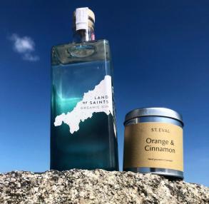 Cornwall's Ray of Light Land of Saints Gift Set