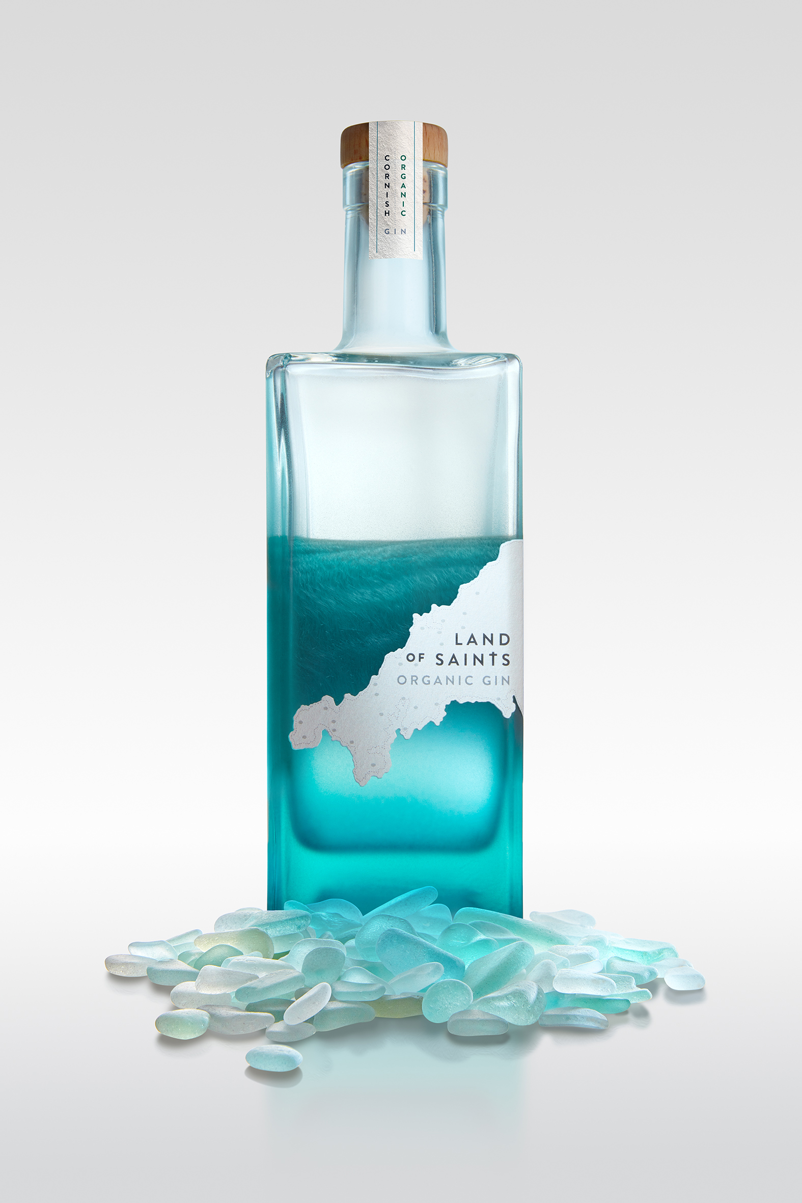 Land of Saints Organic Gin - Cornwall